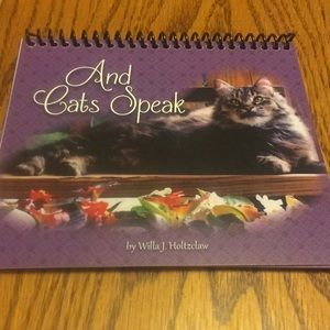 And Cats Speak gift book